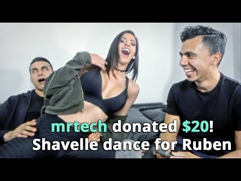 GETTING A LAP DANCE FROM PORNSTAR SHAVELLE LOVE EVERY TIME VIEWERS ORDER FT. JIMSTERTV