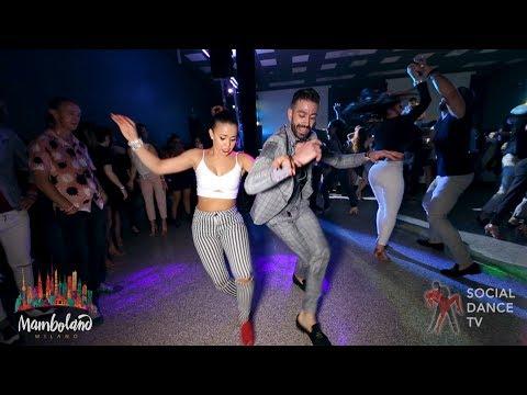 Panagiotis Aglamisis & Amneris Martinez – salsa social dancing | Mamboland Milano 2018