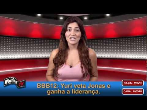 """BBB12: Yuri (líder) e Laisa – """"Créu"""" na velocidade 5 por mais uma semana."""