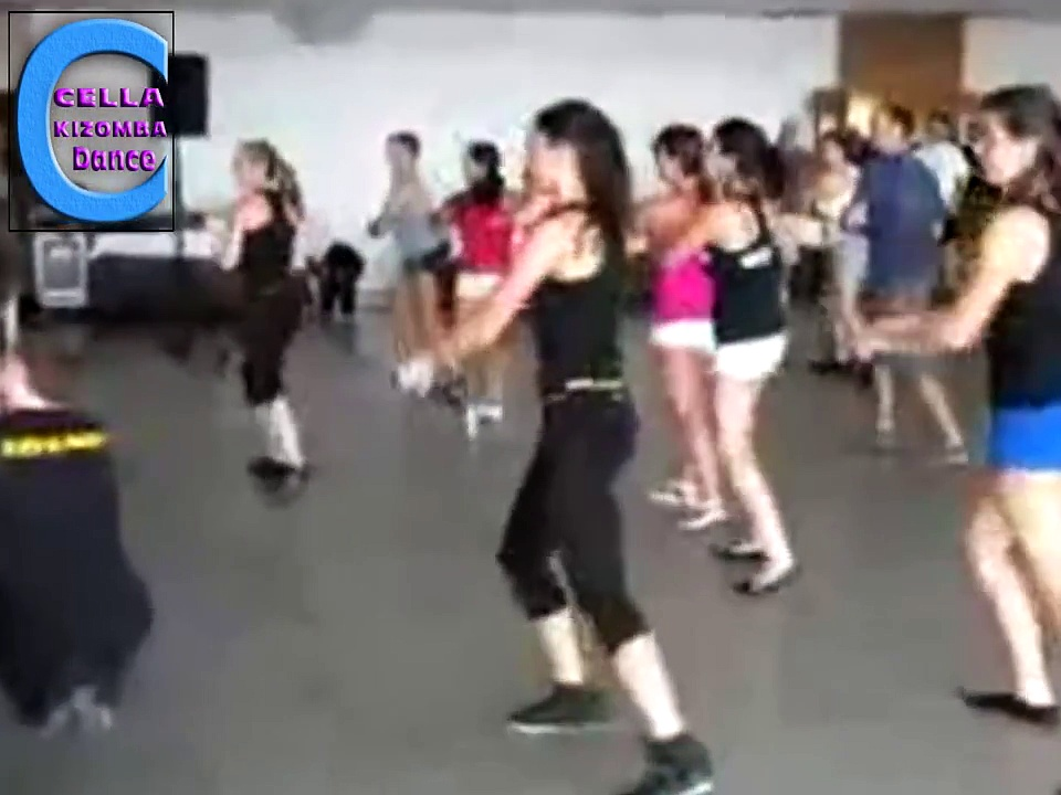 Cella Kizomba dance 2015 SALSA Y PUNTO  ZUMBA Lambada con JUDITH ESTELLES