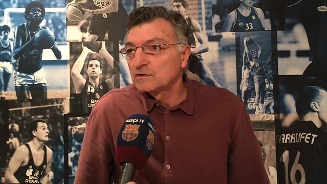"""Joan Creus: """"El Lokomotiv es uno de los cinco mejores equipos de Europa"""""""