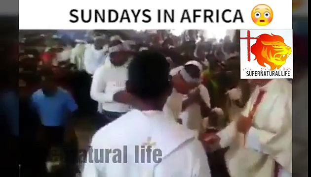 Sunday in African church // Exposed of churches // 2018 Prophecy Africa
