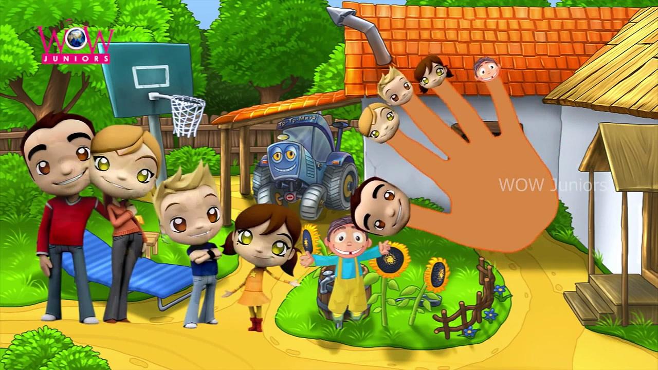 Finger Family For Children Brazilian Dance Cartoon | Funny Brazilian Dance Family Nursery Rhymes
