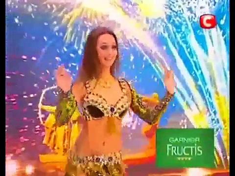 a garota mais bonita do mundo – a dança do ventre – da Ucrânia Got Talent