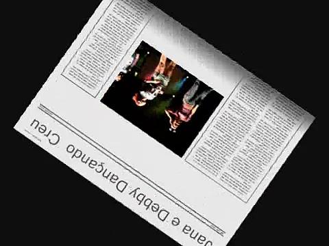 Jana e Debby Dançando Creu em Ibiúna/Sp – 24/03/2008