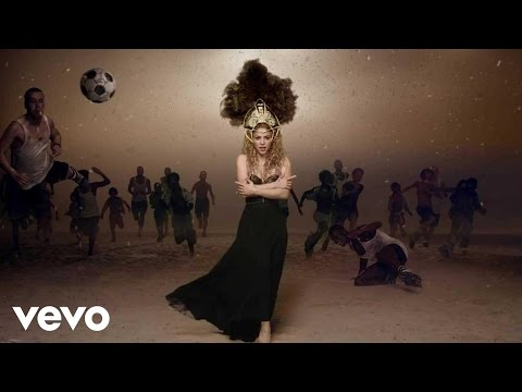 Shakira – La La La (Brazil 2014) (Official Music Video) ft. Carlinhos Brown
