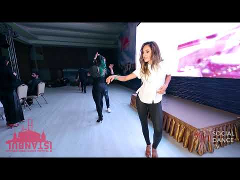 Tigin & Selene Tovar – Salsa social dancing | Istanbul Int. Dance Festival 2018