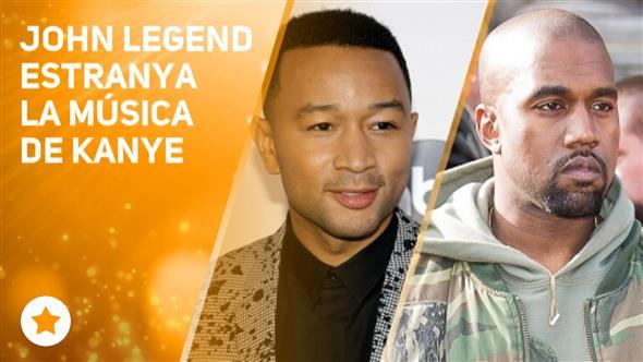 John Legend creu que la música necessita a Kanye
