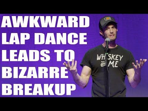Awkward Lap Dance Leads To Bizarre Breakup