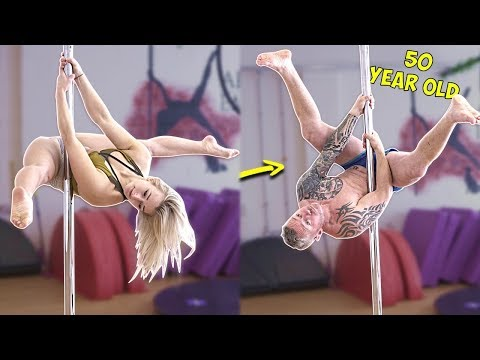 DAD vs POLE DANCING! ft Bendy Kate {Comedy Gold}
