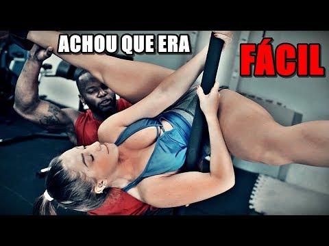 ELA TENTOU APRENDER POLE DANCE | OLHA NO QUE DEU