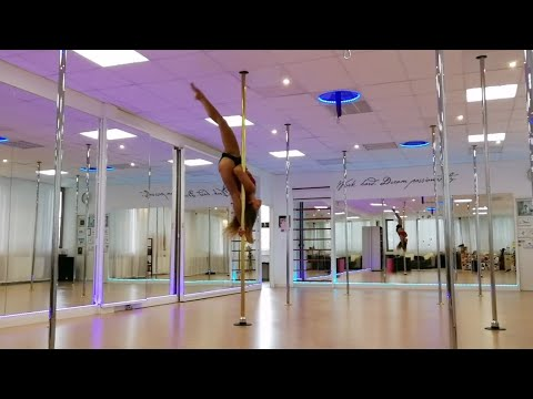 Pole Dance Freestyle Choreography on Ed Sheeran – I see Fire (The Highend Cover)