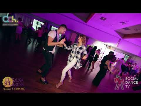 Mike & Valeria – Salsa social dancing | El Sol Warsaw Salsa Festival 2018 (Warsaw, Poland)