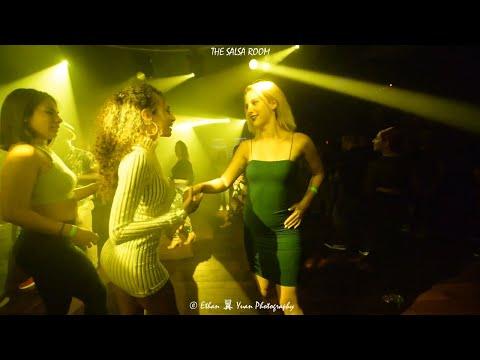 NOELIA'S BIRTHDAY DANCE AT THE SALSA ROOM