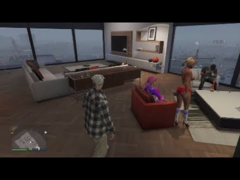 Horny kid rages over lap dance in GTAV 😂😂