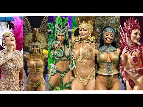 Brazil Carnival – Best of Highlights – Beautiful Dancers Compilation – Samba – Carnaval Brasil