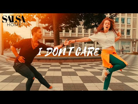 ED SHEERAN & JUSTIN BIEBER – I Don't Care – Salsa Dance – Daniel Rosas & Denise Fabel (2019)