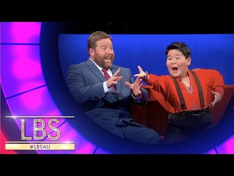 Xionfei Teaches Shane How To Latin Dance | Little Big Shots Australia