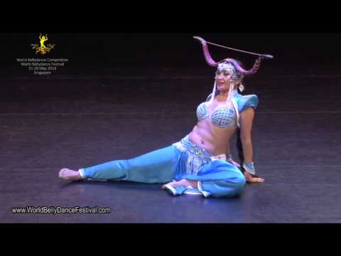 World Belly Dance Festival 2014 – Fusion Solo Champion, Bayarmaa
