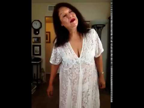 Sexy mature Latina woman loves to dance