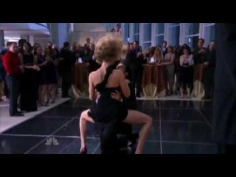 CHUCK  season 5 episode 1 (Morgan and Sarah's Sexy dance)