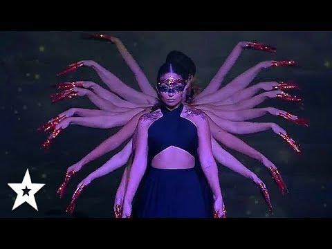 AMAZING Female Dance Group Get Golden Buzzer On Arab's Got Talent 2019 | Got Talent Global