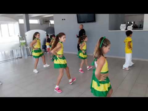 BODY & SOUL PALESTRA | LAMBA KIDS | BRAZIL DANCE E FIT | ASC DANZA CAMPANIA 2016
