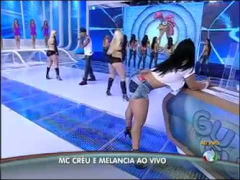programa do gugu Melancia reencontra Mc Créu e dança o hit q