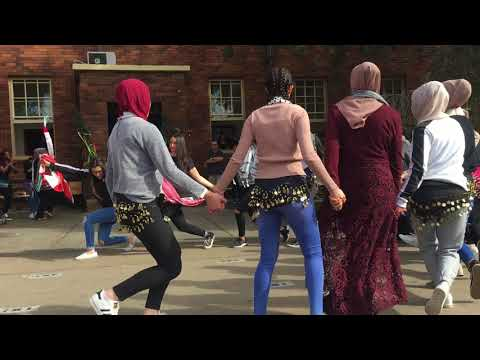 ARAB DANCE GROUP   MGHS MULTICULTURAL 2017