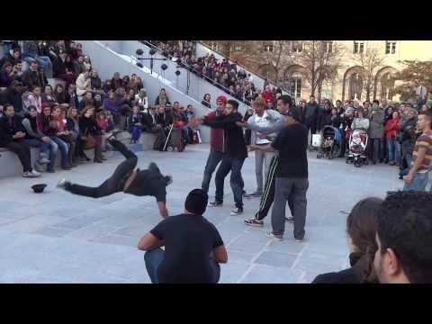 Arab Dancers Notredame Paris