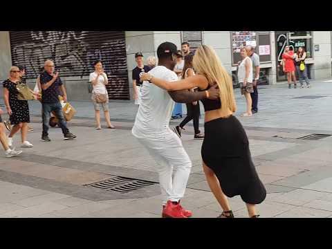 OFREZCO bailar salsa cubana Y  Española espontanea se une bailando timba cubana Madrid timbera