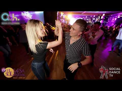 Kamila Grygorowicz & Santee Hernandez – Salsa social dancing | El Sol Warsaw Salsa Festival 2019