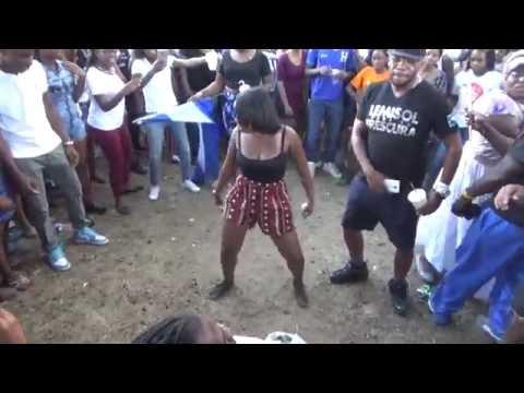 HONDURAN GIRLS LATIN-AMERICAN GARIFUNA PUNTA DANCE